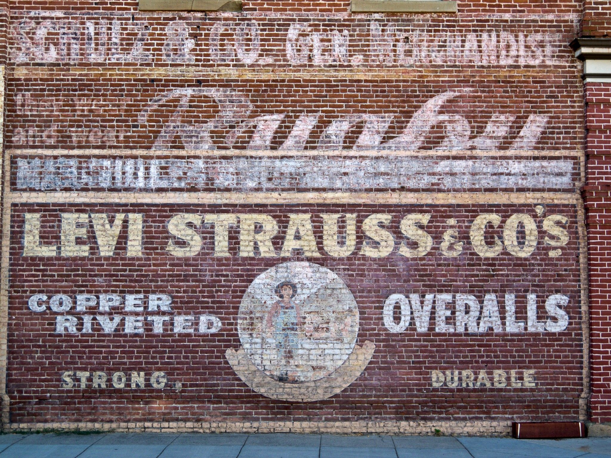 Vintage Brick Wall Signs Shoot Write Panel Business Sign