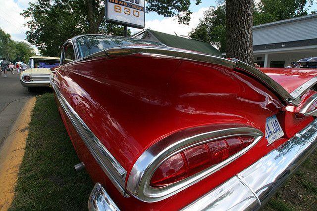 1959 Chevrolet Impala Tail Fin Chevrolet Impala Car Chevrolet Chevrolet