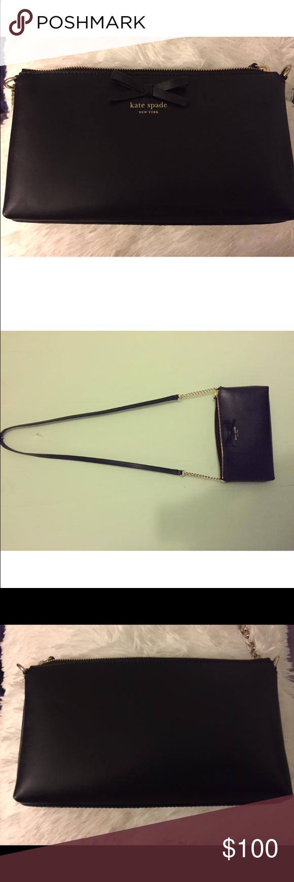 Kate Spade crossbody purse Black Kate Spade crossbody bag. Never used kate spade Bags Crossbody Bags