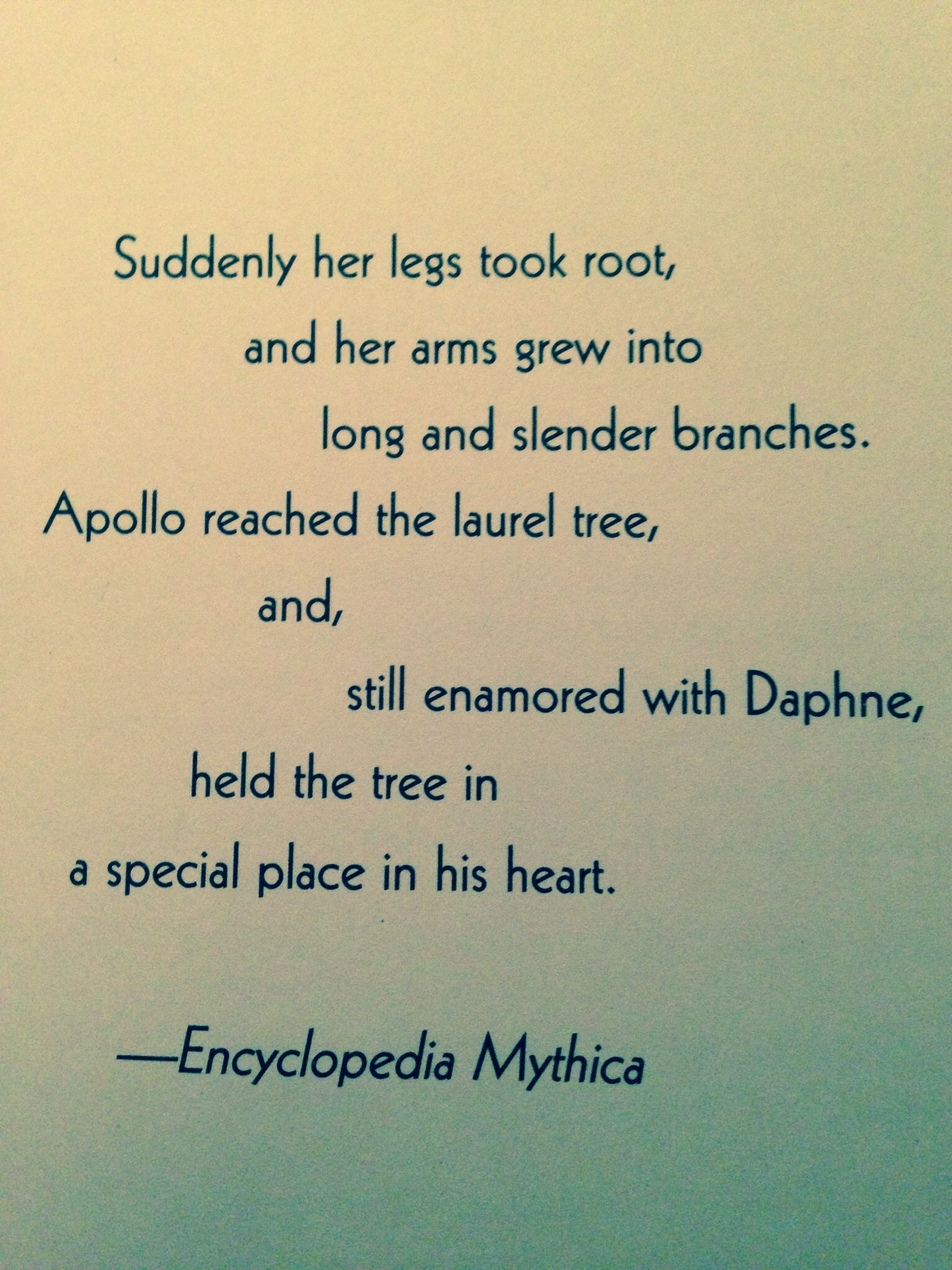 Greek Mythology Quote I Always Loved That Story Alexus
