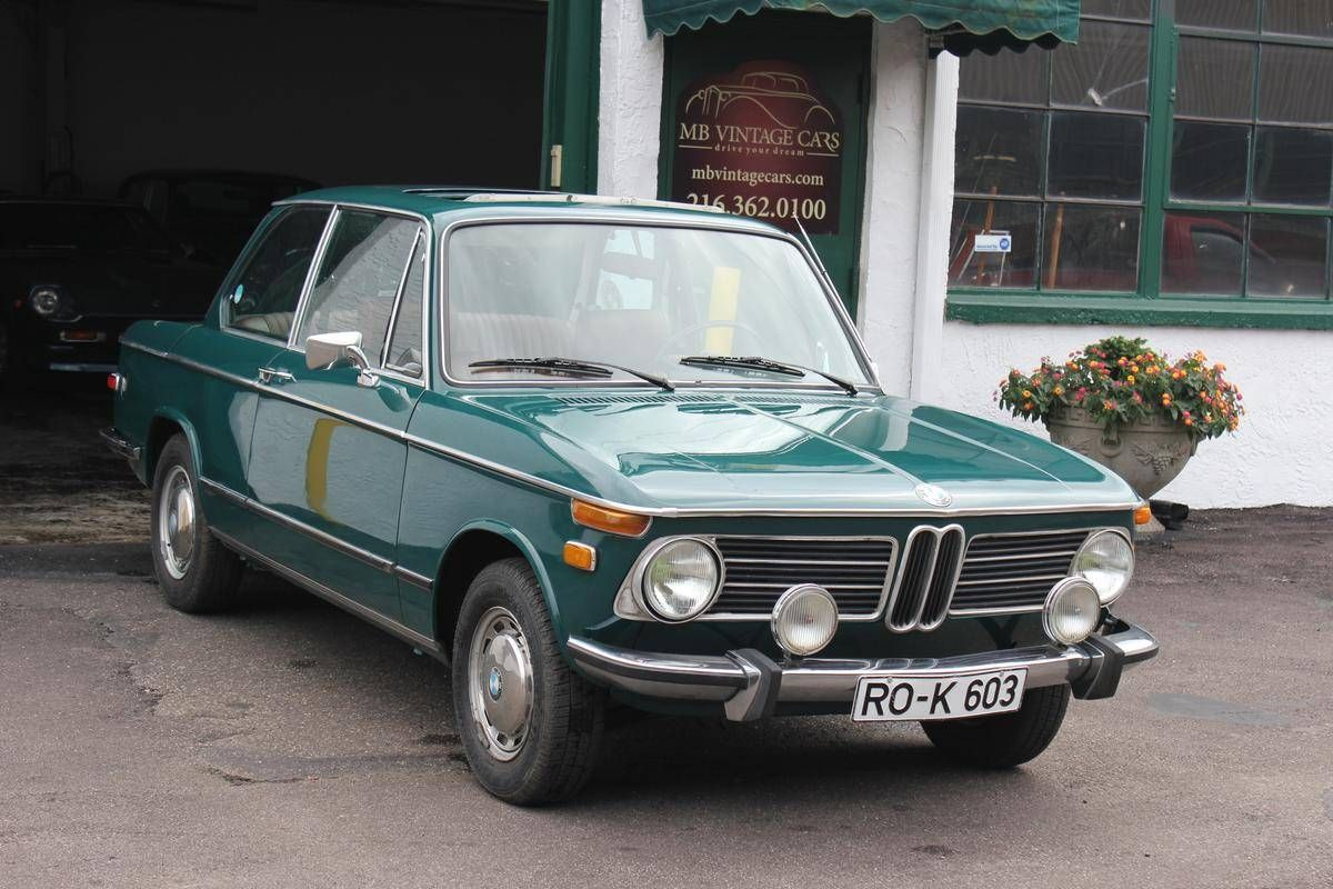 Bmw 2002 For Sale >> 1975 Bmw 2002 Sunroof Coupe For Sale 1883059 Hemmings