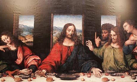 Image result for the last supper painting