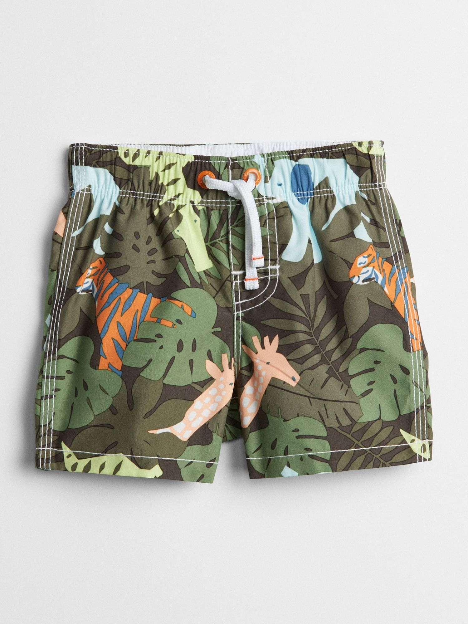 3c7a152a4a Jungle Graphic Swim Trunks|gap | Swim 2018 - Baby + Toddler Boy ...
