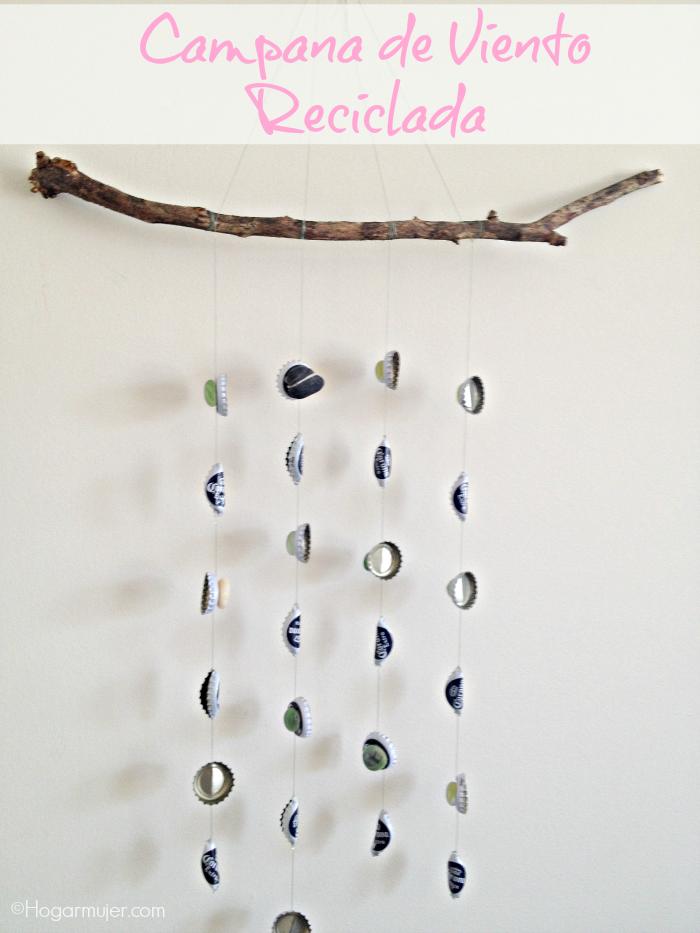 #diy #reciclaje #windchime #diadelatierra #campanadeviento