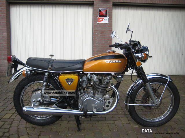 image detail for 1974 honda cb450 k5 motorcycle. Black Bedroom Furniture Sets. Home Design Ideas