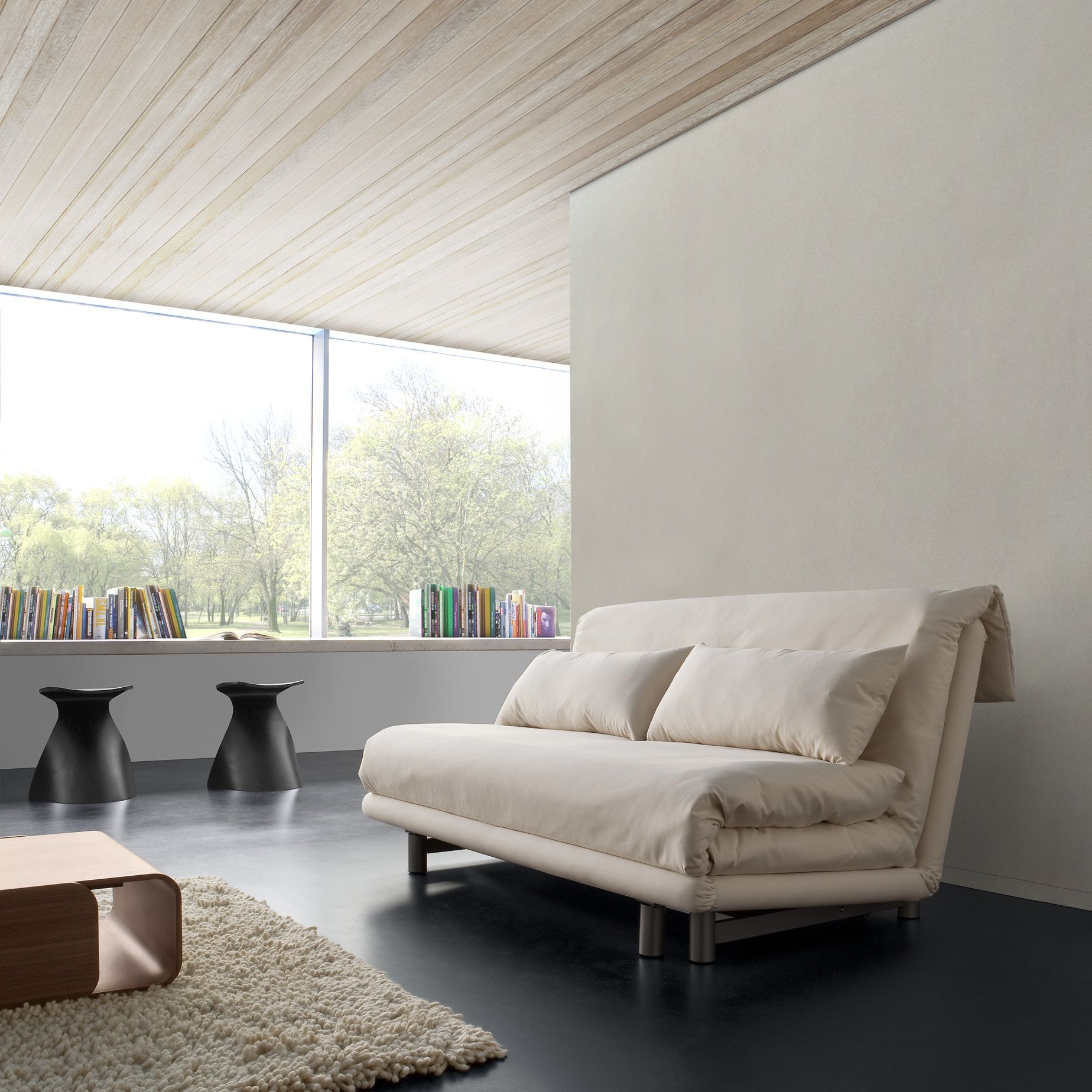 trendy multy sofa bed by ligne roset with ligne roset nador. Black Bedroom Furniture Sets. Home Design Ideas