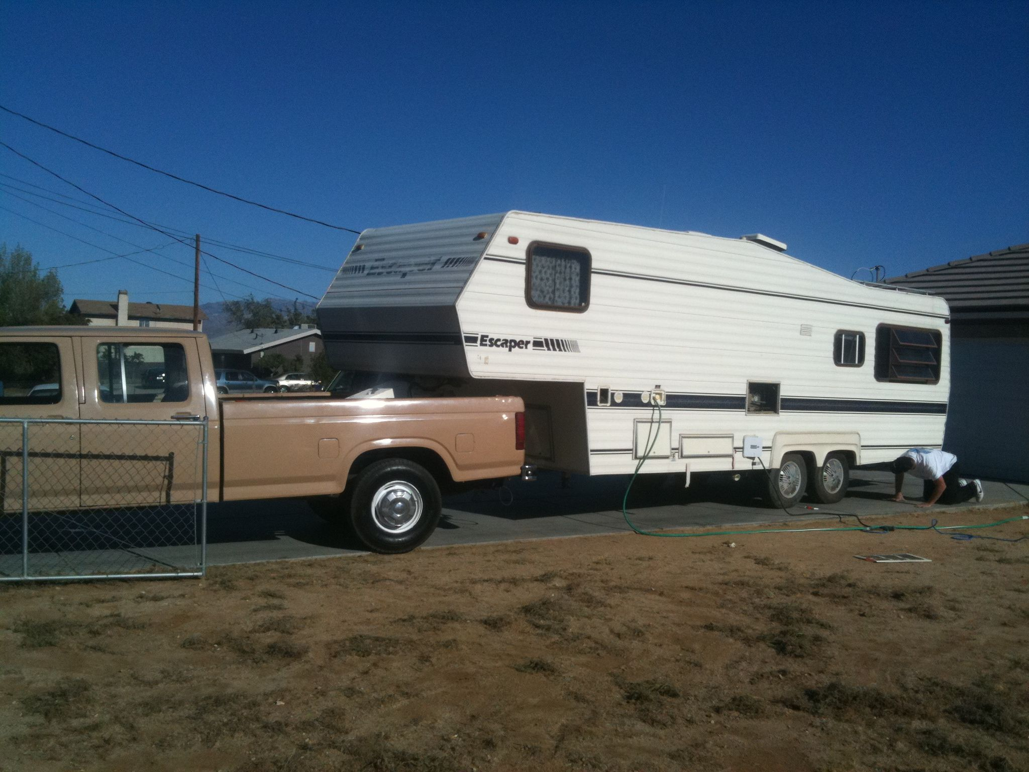 Jim Bailey's 1983 F-350 & 26' Escaper 5th Wheel Trailer  | Fifth