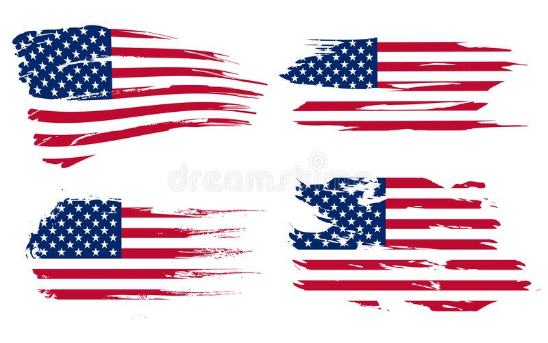 American Flag Background Fully Editable Vector Illustration Can Be Scaled To A Ad Fully Edi Flag Background American Flag Background American Flag Art