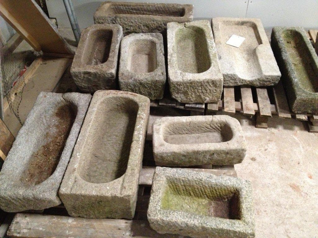 Trog tr ge antike brunnen garten pinterest brunnen - Antike gartendeko ...