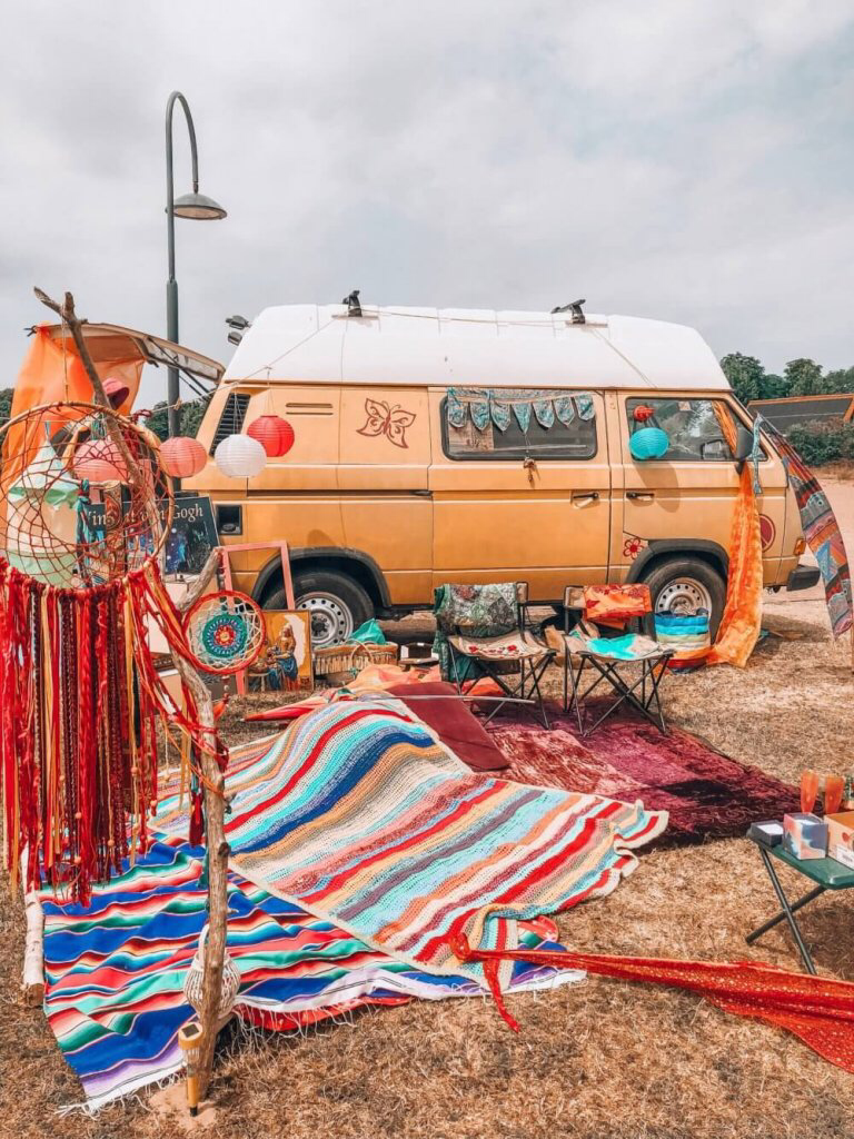 The most relaxed hippie van festival you should visit this year