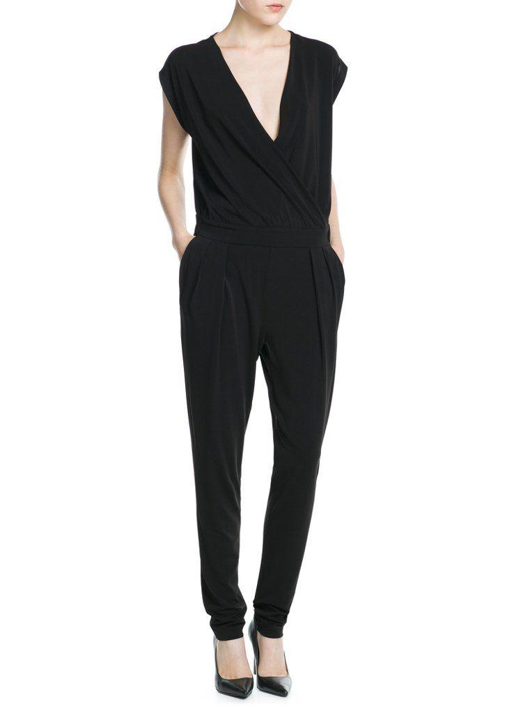 Pin for Later: Jumpsuits erobern die Modeszene — und ihr solltet auch einen haben  Mango One-Piece Suit ($100)