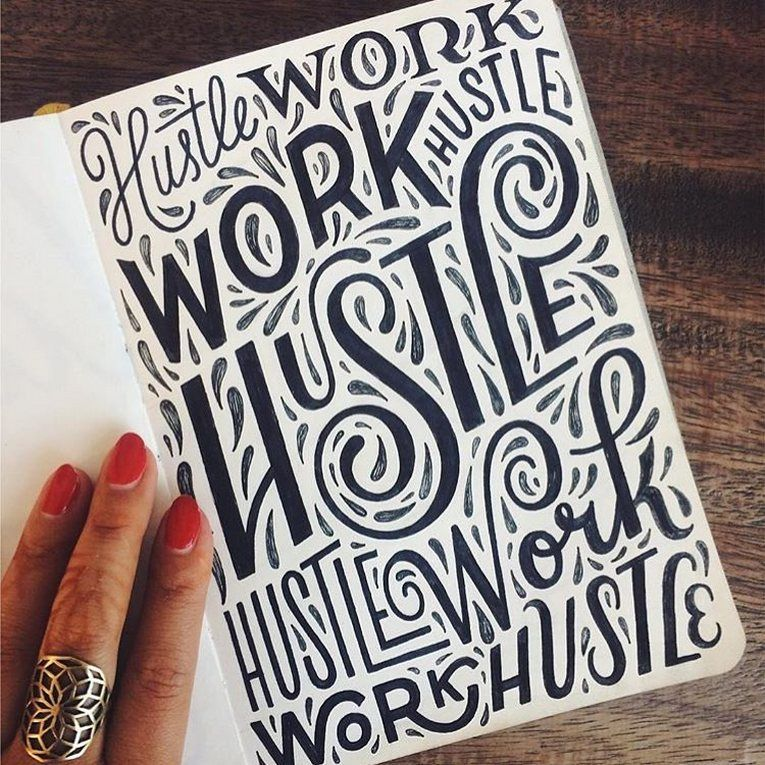 top 60 typography quotes hand drawn designs
