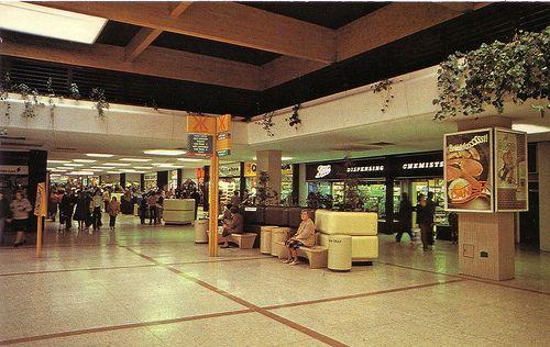 Glenrothes Town Centre 1980 Vintage Shops Centre Building