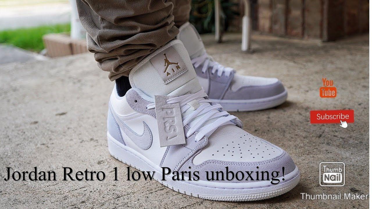 air jordan 1 low paris womens
