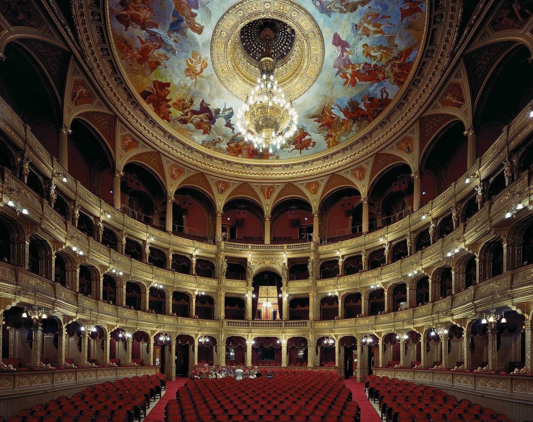 Hungarian State Opera House, Budapest, Hungary, 2008 - David Leventi Photography