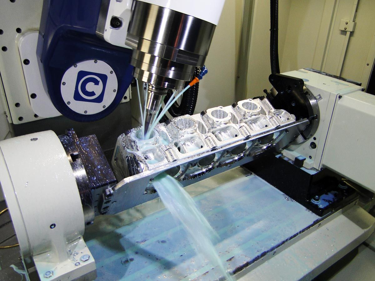 Cnc Cylinder Head Porting Machine Axis Cnc Cylinder Head