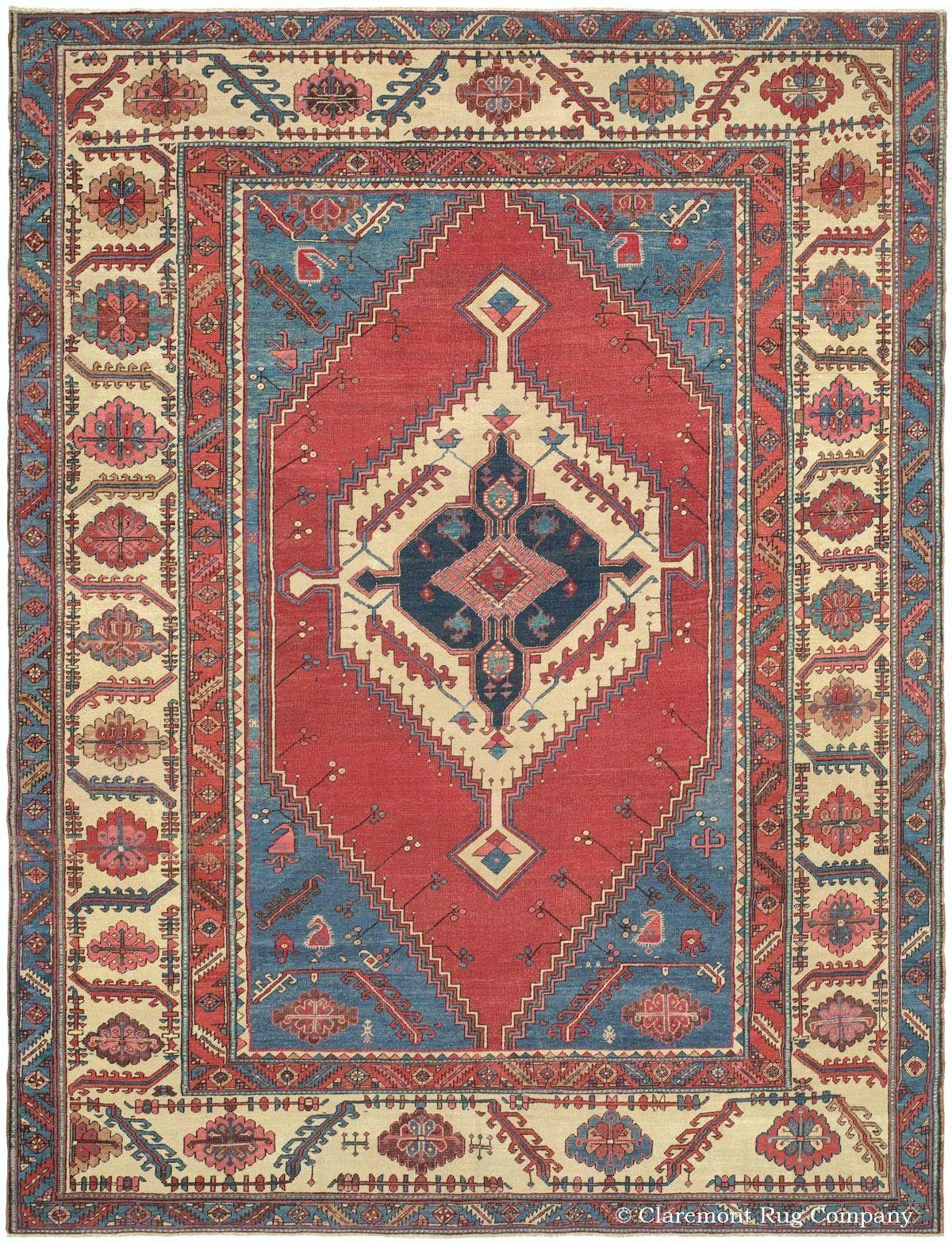 Persian Bakshaish rug, Circa 1875 Tappeti