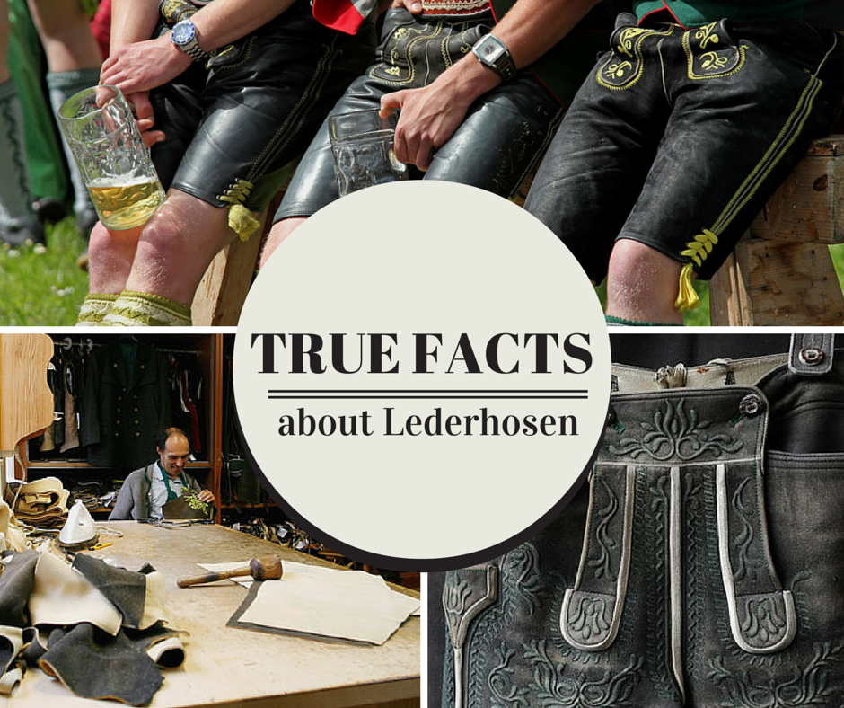Lederhosen literally translates to Leather Pants in German Using fur or animal hide for pants goes way way way back to Otzi the Iceman, the 5,300-year-old frozen mummy whowas found near the Alpine…