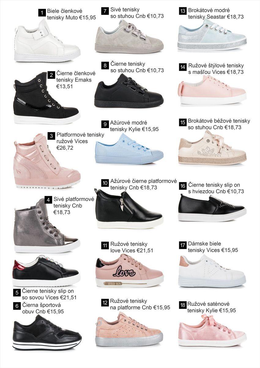 53d8d419e826 Tenisky - Kolekcia obuvi jar leto 2018