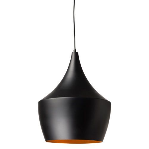 Karl Black And Matte Gold 14 Inch One Light Pendant Black Pendant Lamp Large Pendant Lamp Pendant Lamp