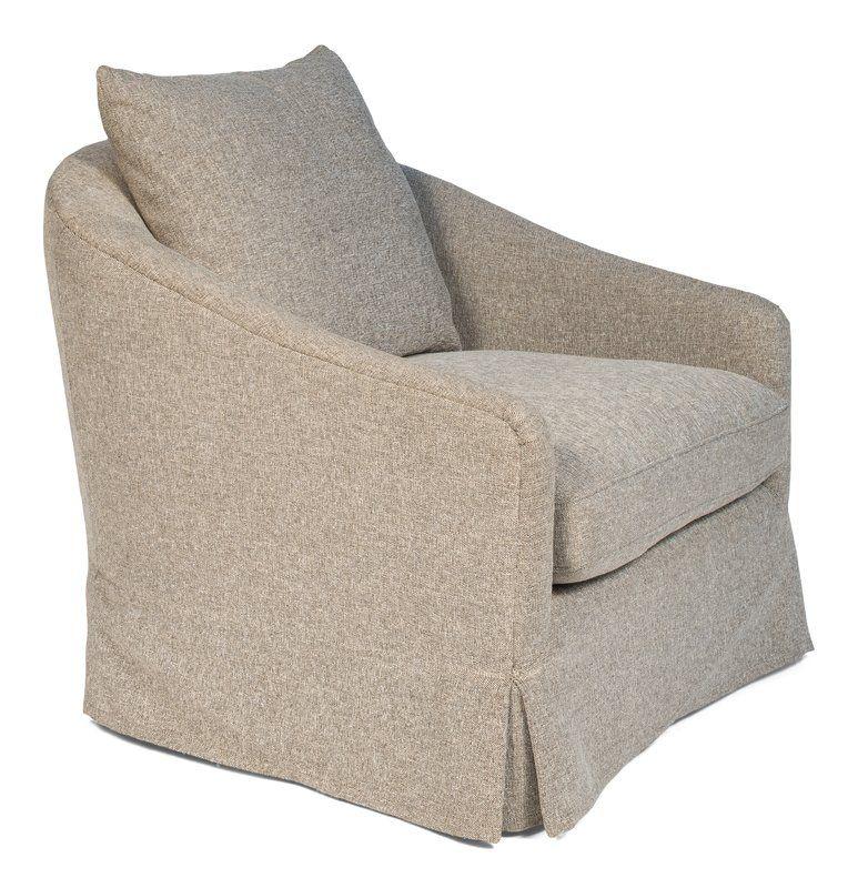 Leominster Swivel Barrel Chair Upholstered swivel chairs