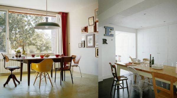 Different Chairs Around A Dinner Table Love It Dinning Room