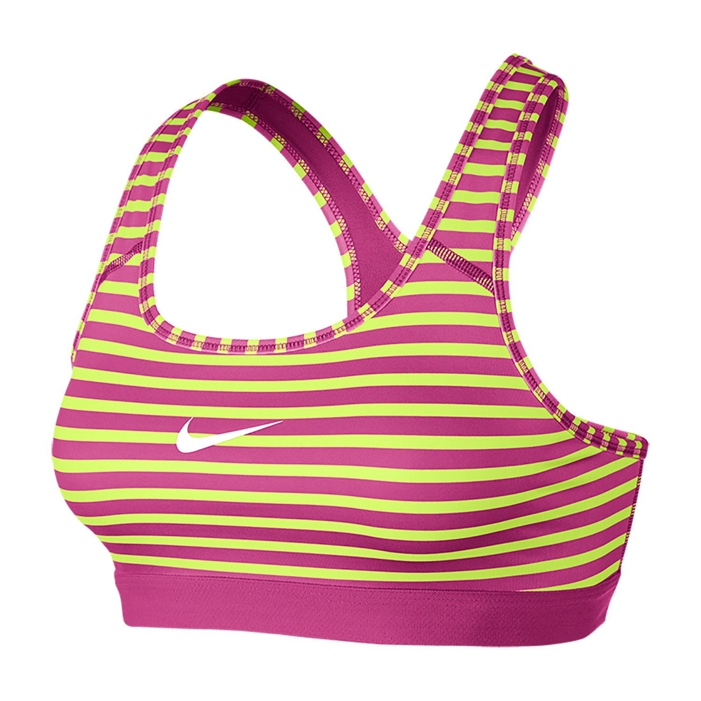 Nike Women's Pro Classic MicroStripe Bra Sports bra top