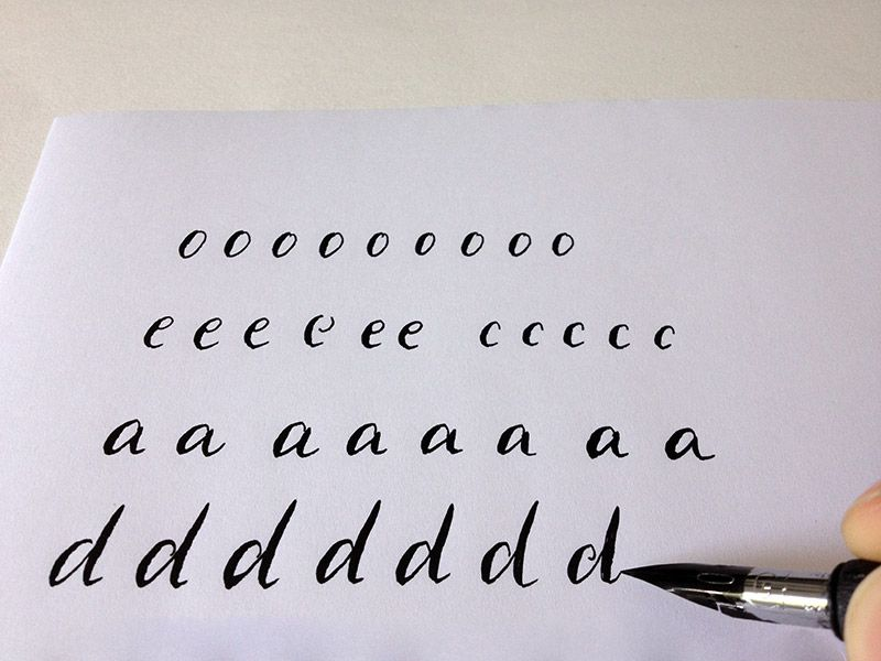 If you want to learn modern calligraphy but have no idea how to get