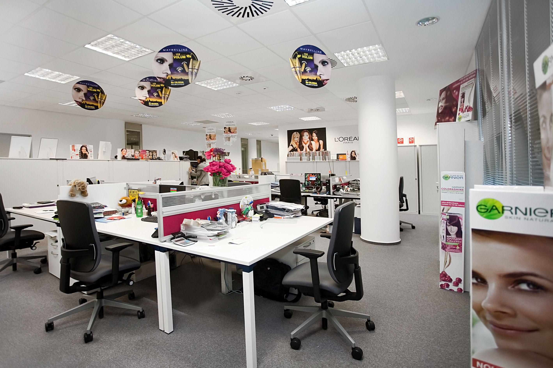 Loreal Romania Workstations #Office #Interior #Design #Bucharest