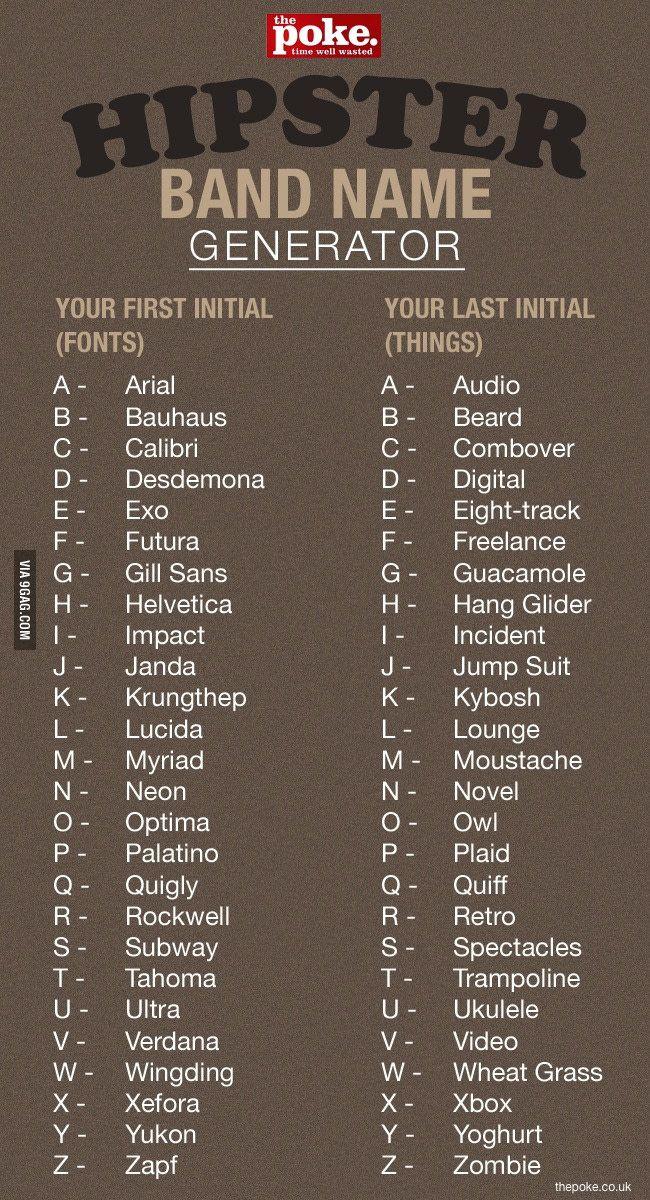 Zapt Ukulele Sounds Bad Funny Name Generator Band Name Generator Funny Names