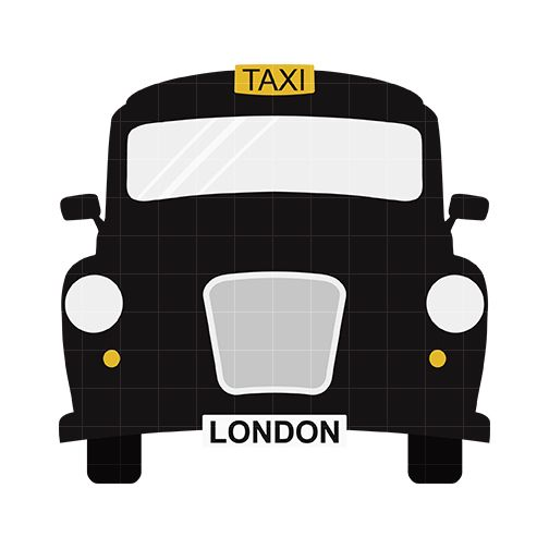 Büromöbel clipart  London taxi Clip Art | Home / Vehicles & Transportation / London ...