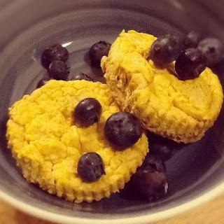 Low-Carb Pumpkin Cheesecake Bites -