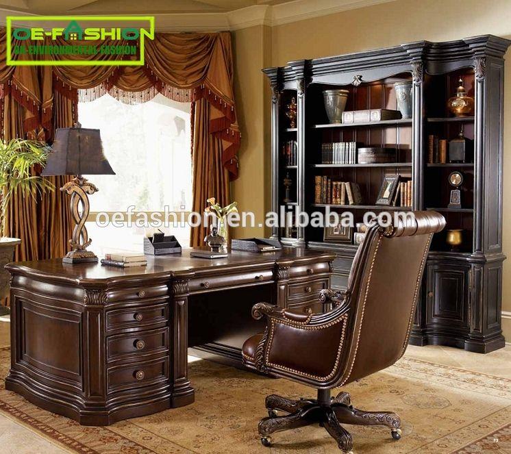 Oe Fashion Rectangular Unique Executive Boos Office Table