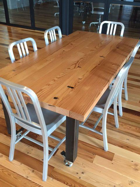 Windfall Lumber   Doug Fir Plank   Table