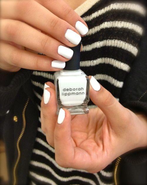 Image result for (Deborah Lippmann Gel Lab Pro Nail Color in Amazing Grace) white