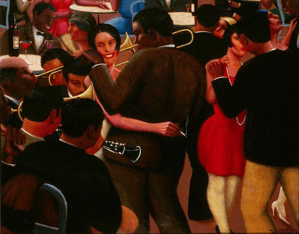 Archibald J. Motley Jr. Blues, 1929 | Archibald Motley: Jazz Age Modernist