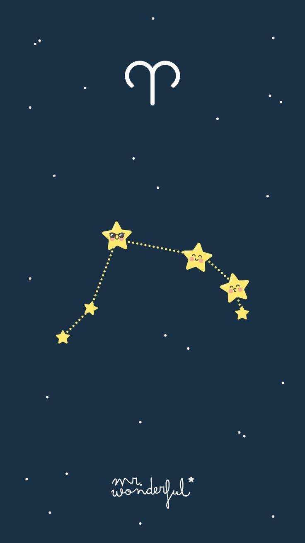 Mrwonderfulwallpaper Zodiac Aries Starsign Bilzer Blog Lambang Zodiak Wallpaper Iphone Bintang