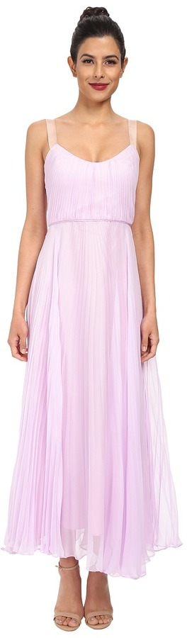 JILL JILL STUART Luna Crystal Pleated Dress on shopstyle.com
