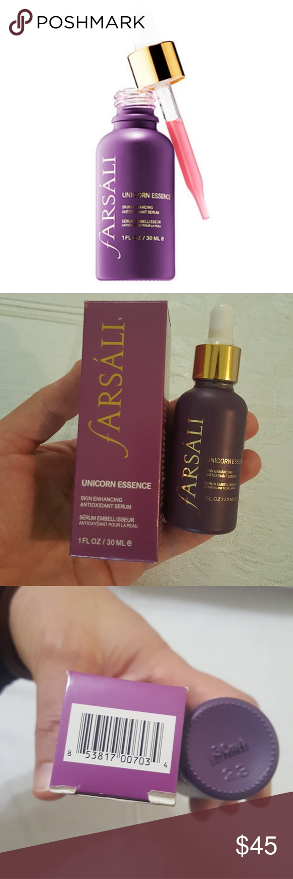 ***SOLD*** Unicorn essence, Sephora makeup, Perfume bottles