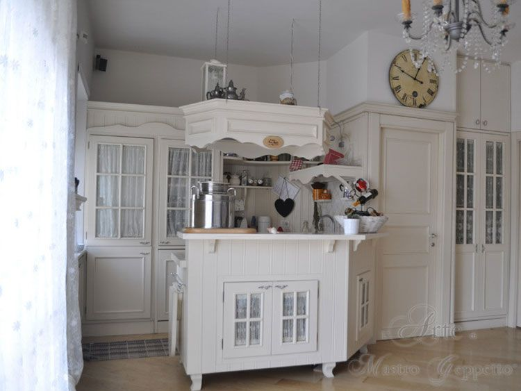 Cucina shabby chic in stile provenzale romantico - Cucine in stile provenzale ...