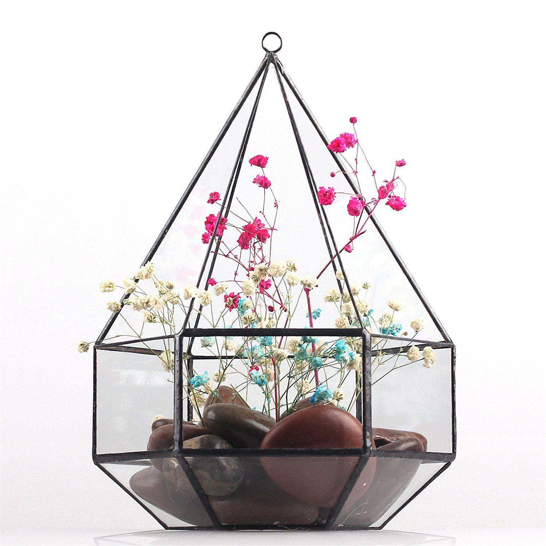Hanging sixsurface diamond glass geometric