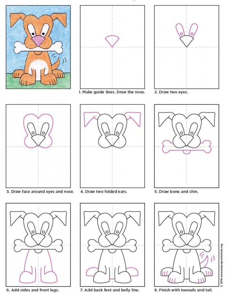medium resolution of cartoon dog diagram