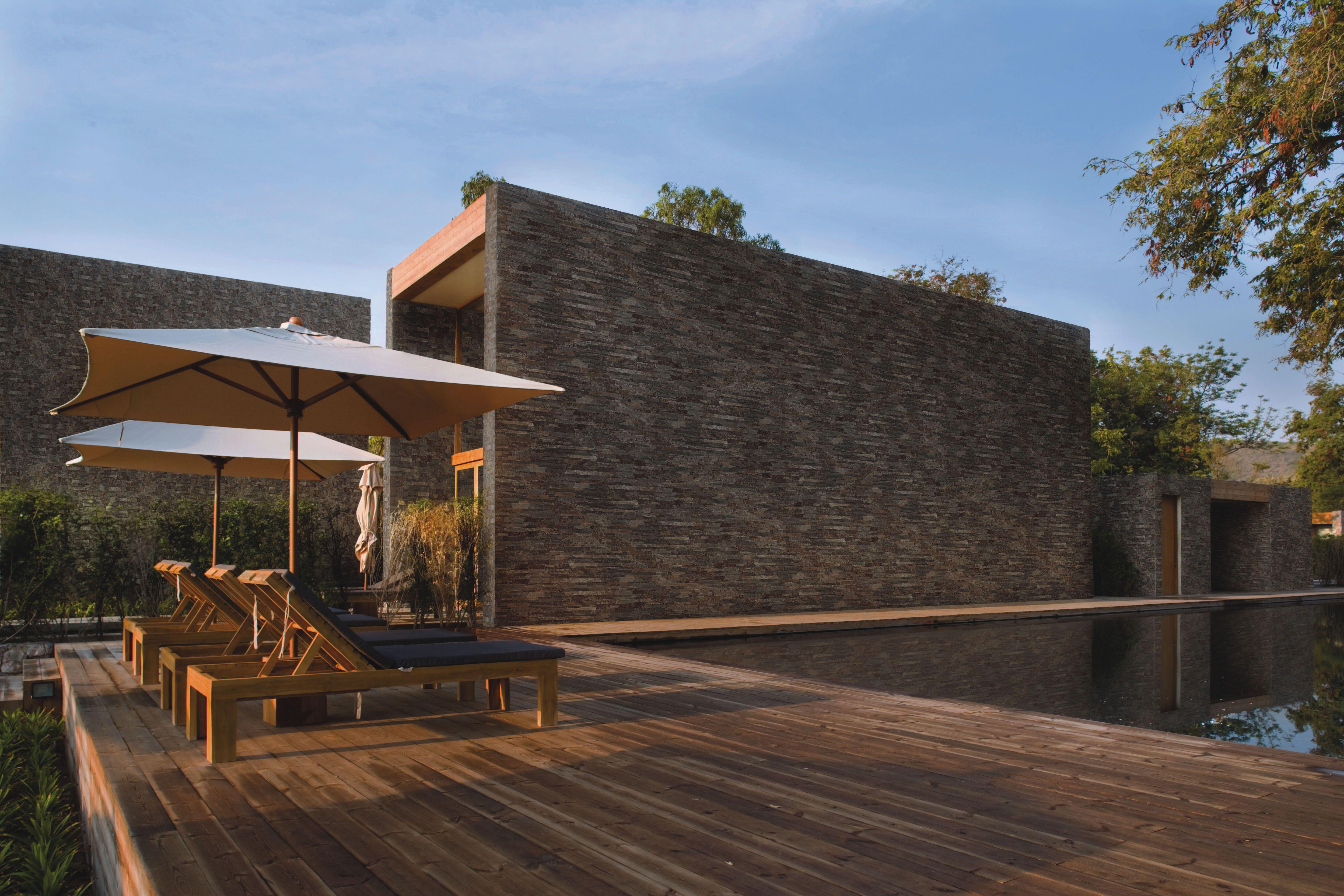 Fachaletas corona para muros exteriores dream home - Piedra para muros exteriores ...