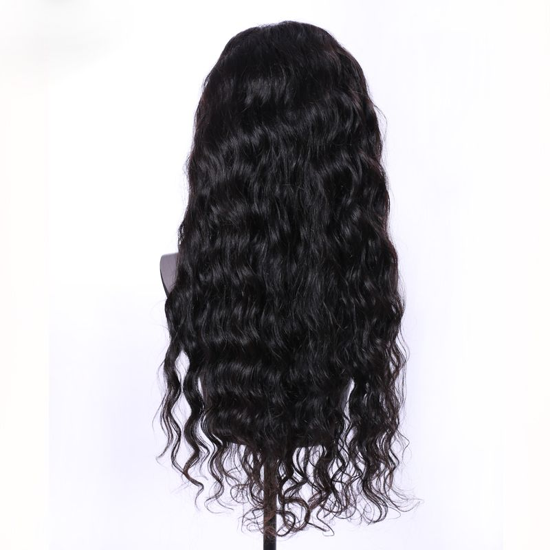 Full Crown Hairstyles: Virgin Human Hair Wig - Full Lace (Frontal)