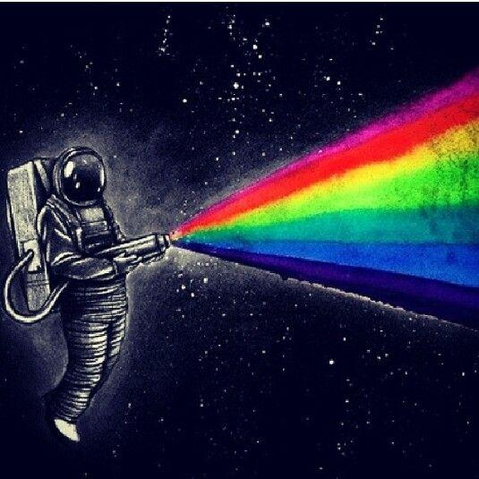 Cute Artsy Wallpapers Rainbow I Need More Space Pinterest Rainbows