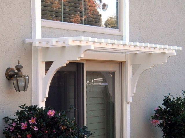 Doors \u2013 ArborOriginal - trellis over sliding door to back patio : door trellis - pezcame.com