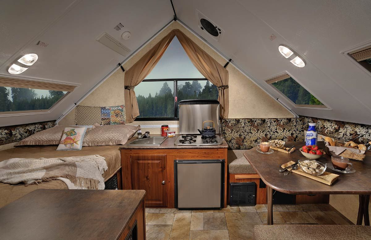 a-frame campers | Chalet (A-frame) Camper Trailers | Airstreams ...