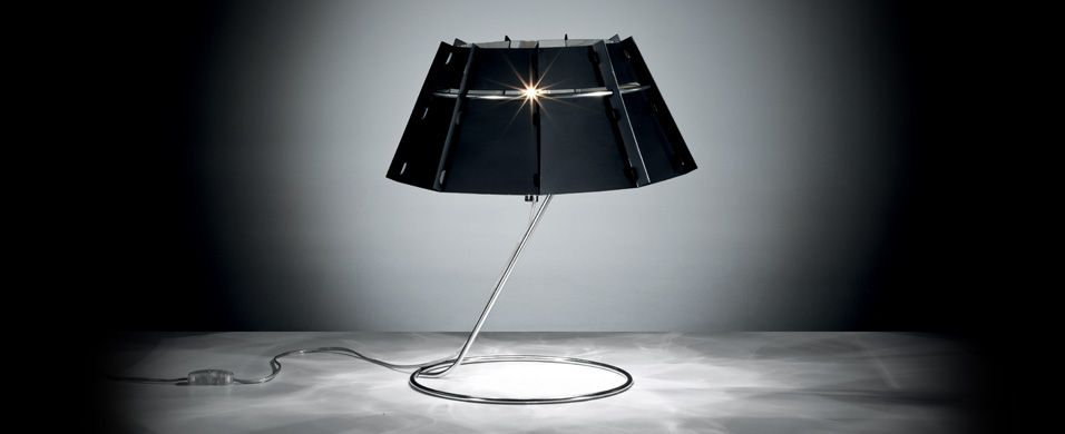 Beautiful Design Polycarbonate Table Lamp CHAPEAU By Nigel Coates/Slamp Photo