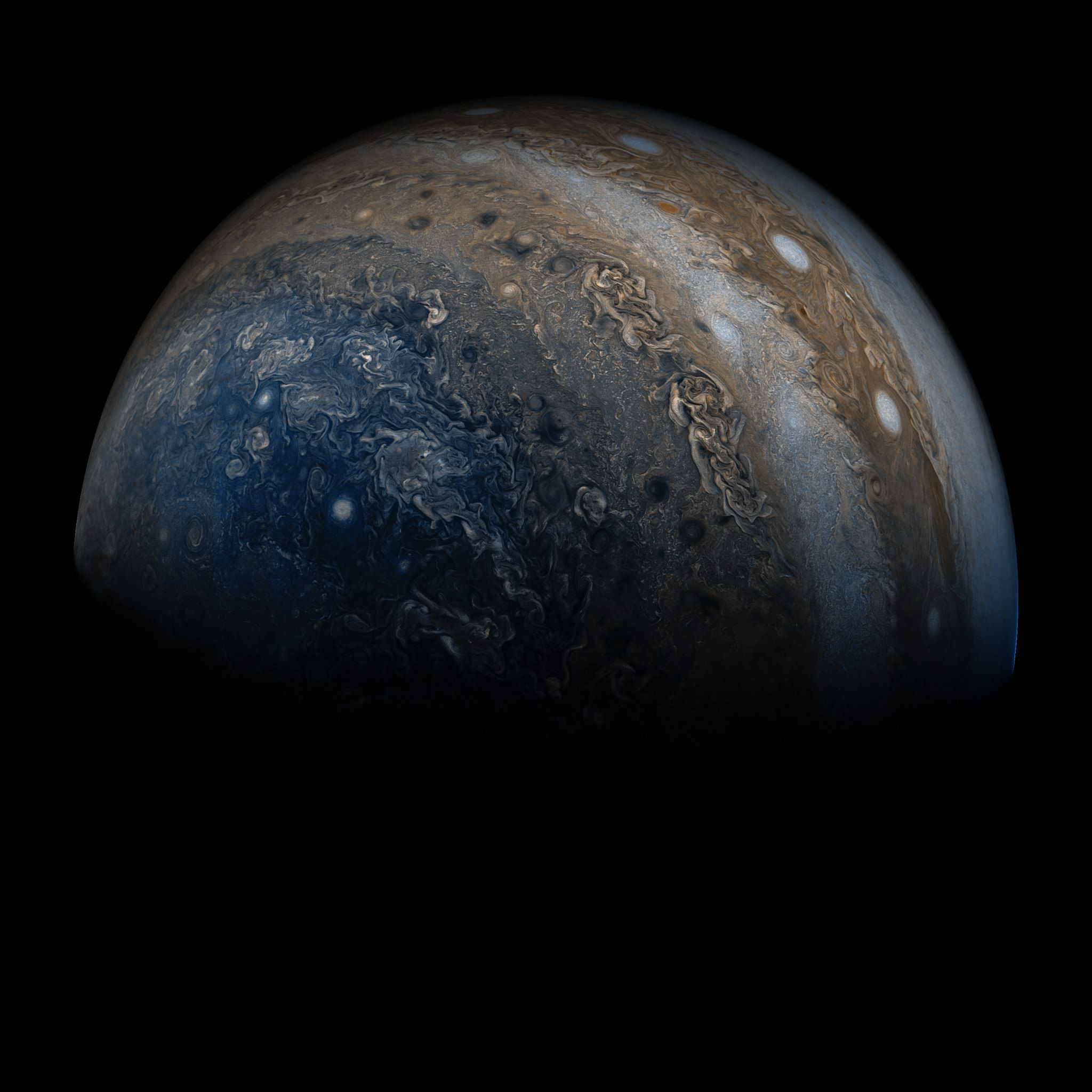 A Stormy Turbulent World New Science Results From Juno Reveal - Nasas juno spacecraft has captured incredible images of jupiters surface