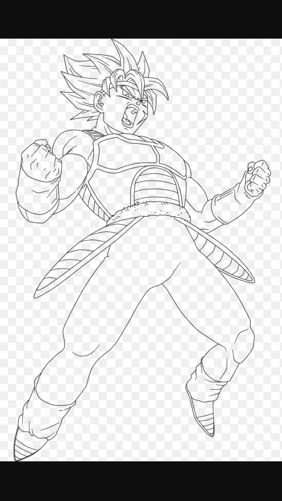 Bardock Coloring Pages PrinceVegeta Hannah God Bless